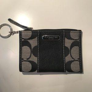 Coach keychain pouch